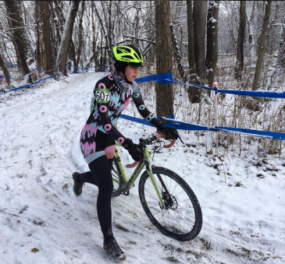 "Emma ""Junior Cat"" Freymann, CX Nationals 2017"