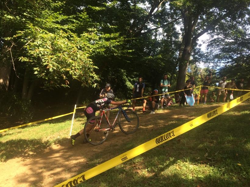 Cyclocross run-up