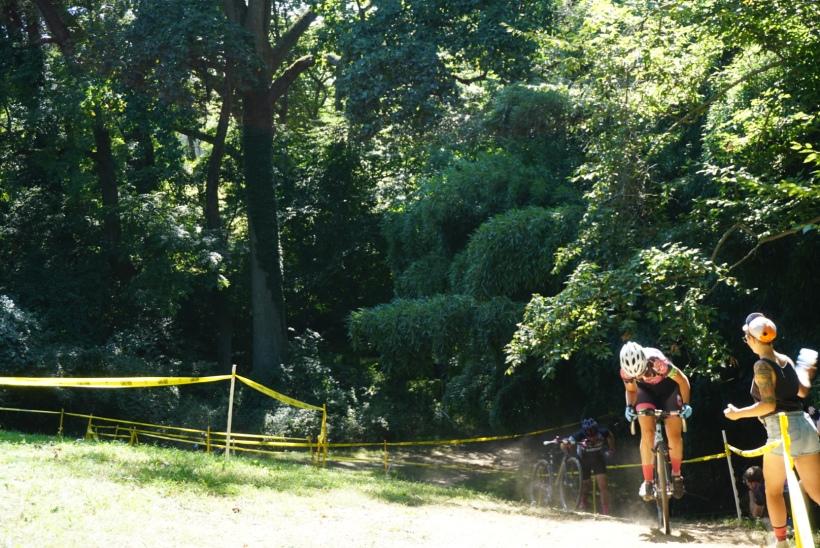 Cyclocross hill climb