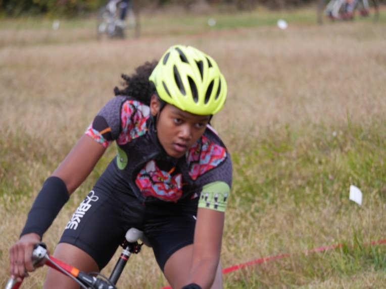 Tamia brought her crit racing strength to the grass