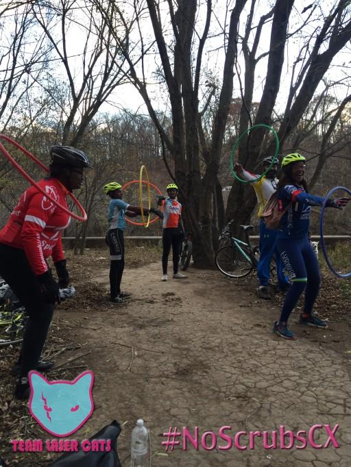Cadence at the hula hoop challenge